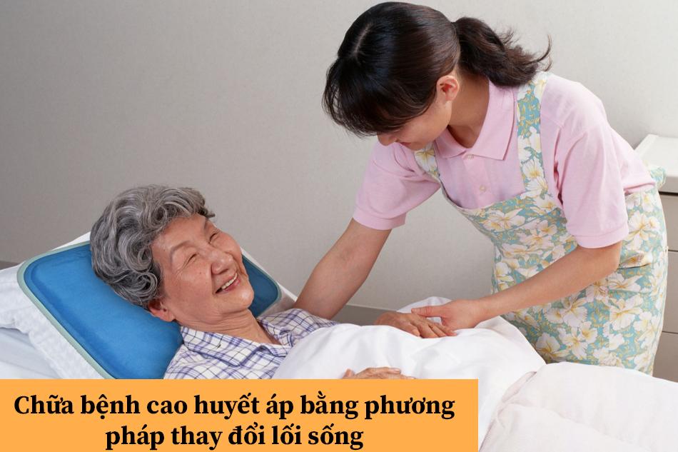 Chữa bệnh cao huyết áp bằng phương pháp thay đổi lối sống