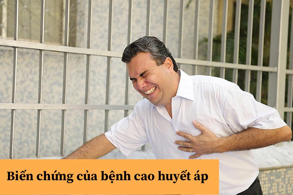 Biến chứng của bệnh cao huyết áp