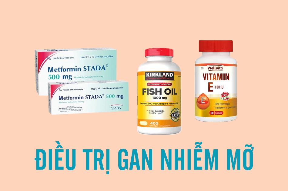 Một số nhóm thuốc điều trị gan nhiễm mỡ