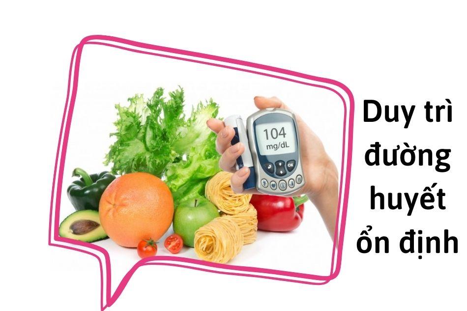 Cách duy trì đường huyết ổn định