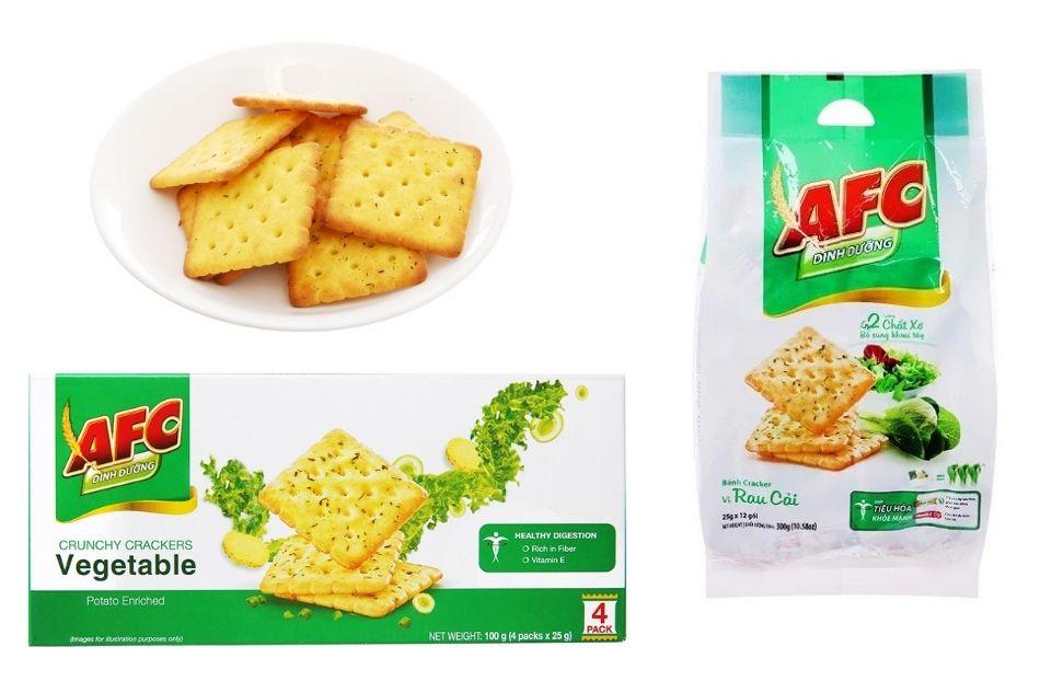Bánh AFC vị rau cho người tiểu đường