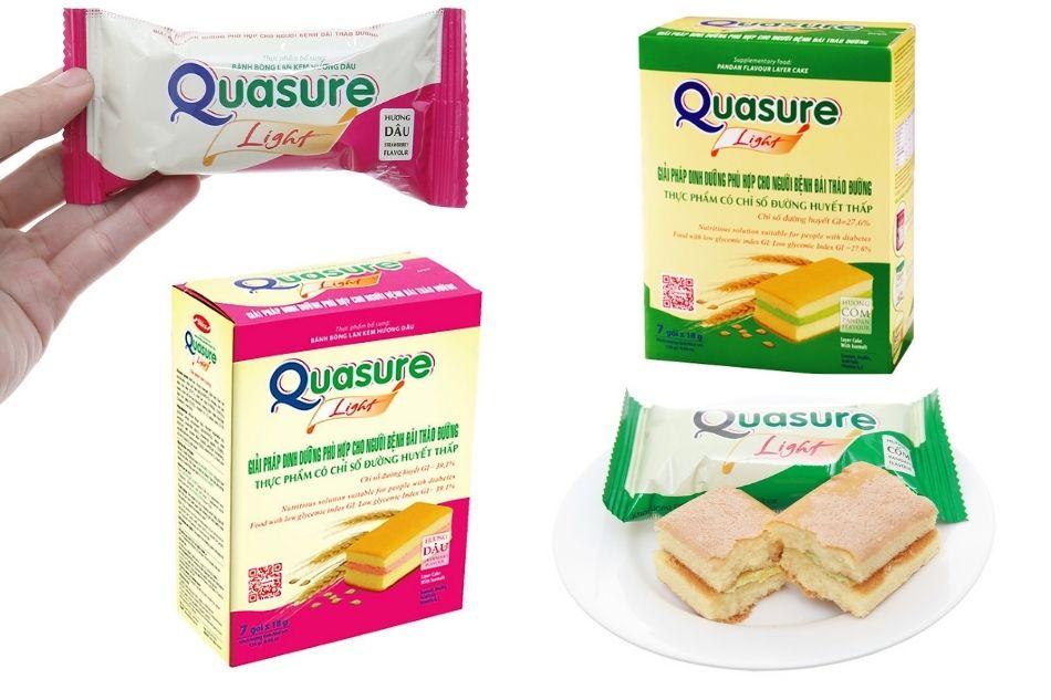 Bánh bông lan dành cho người tiểu đường - Quasure light