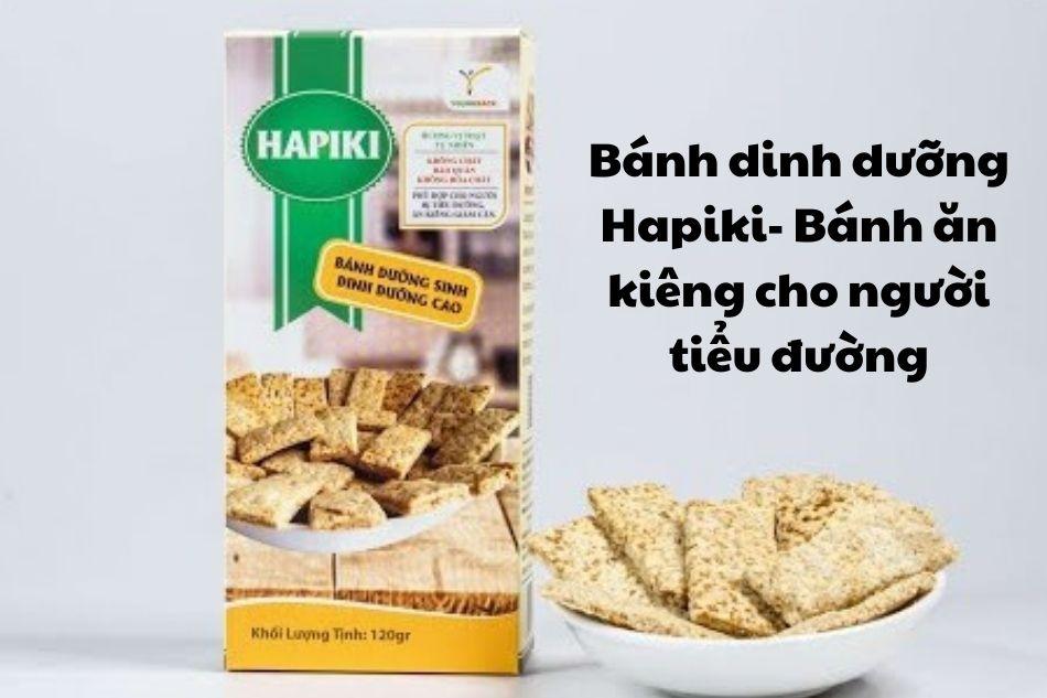 Bánh dinh dưỡng Hapiki- Bánh ăn kiêng cho người tiểu đường