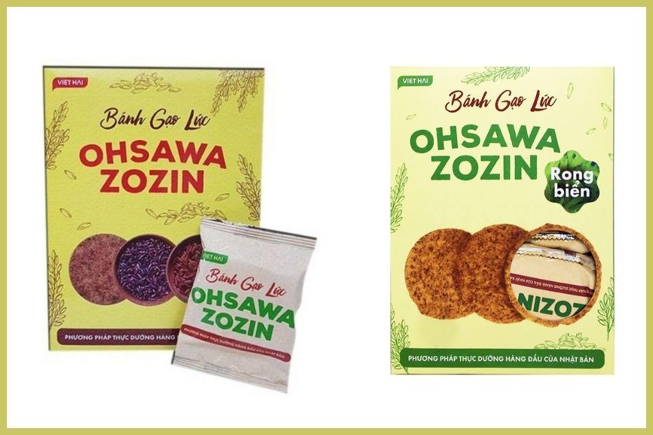 Ohsawa Zozin- Bánh gạo lứt cho người tiểu đường
