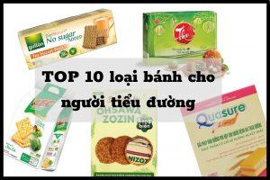 TOP 10 bánh cho người tiểu đường